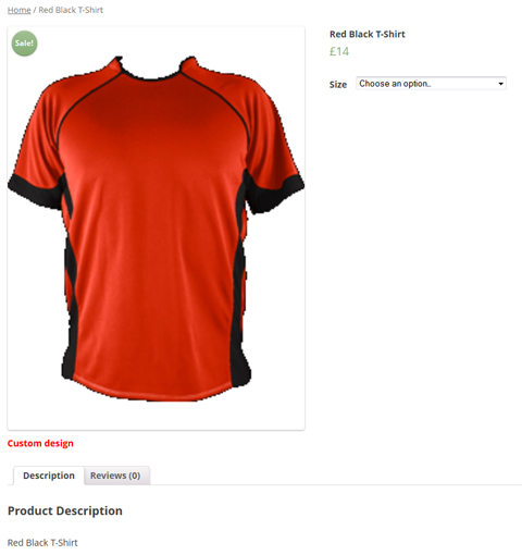 Larvashareplugin plugin download download woocommerce for Custom single t shirts