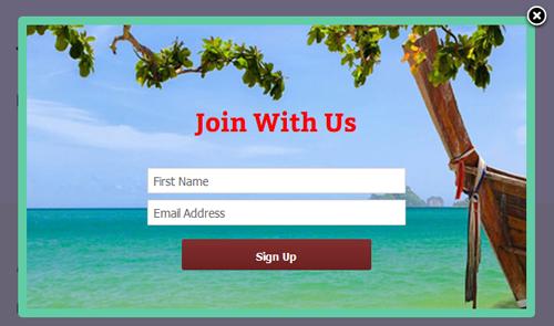 Berlangganan Popup Kustom Mailchimp untuk WordPress - 12