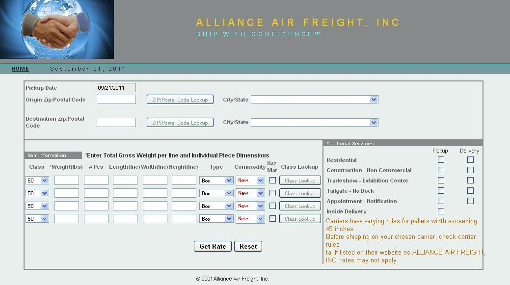 Freight Company | LTL Truck | Air Freight Services | Ocean Freight