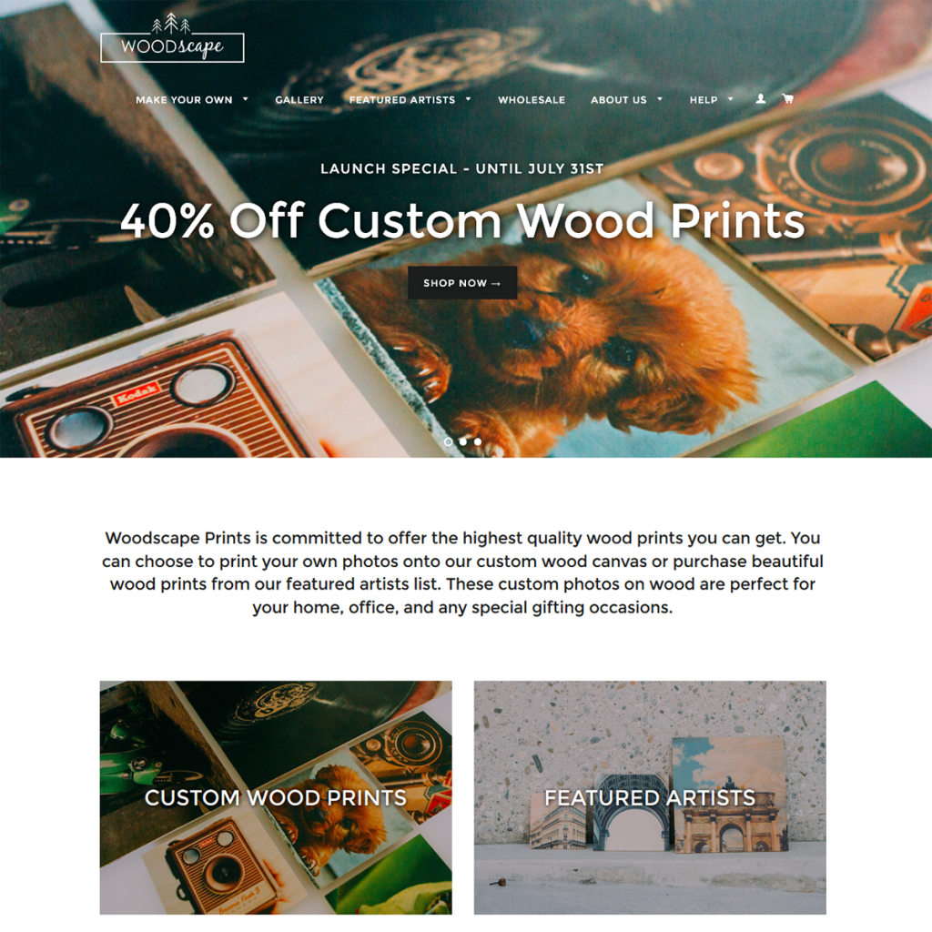 Woodscape Prints
