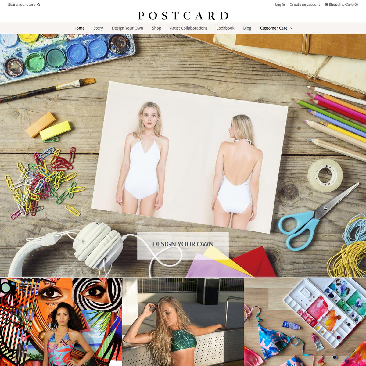 Postcard Swimwear