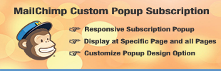 MailChimp Custom Popup Subscription
