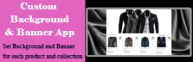 Background & Banner for Product & Collection