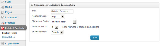 WP e-Commerce Related Products Slider - 6